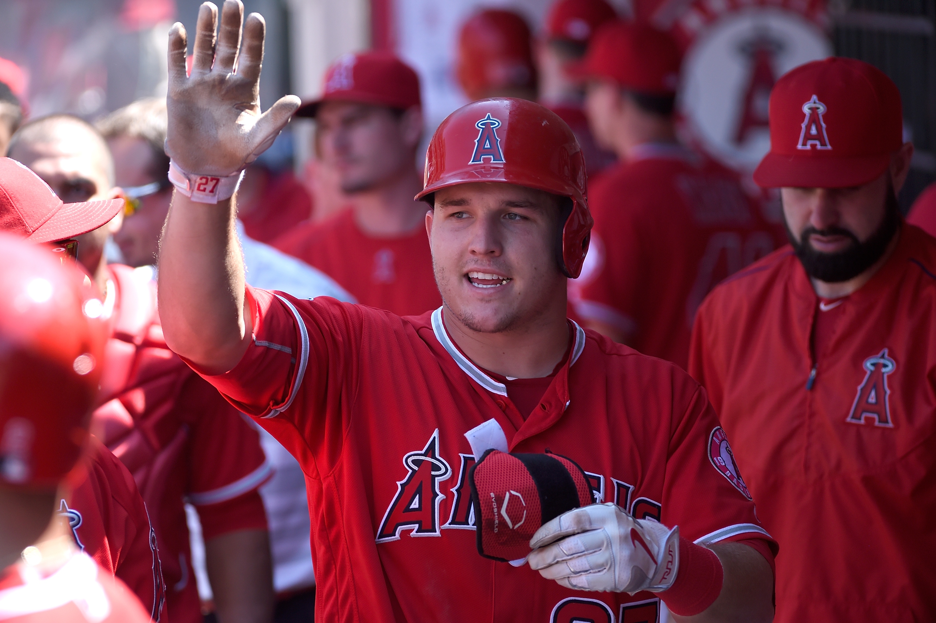 MLB, All-Star Game, Mike Trout