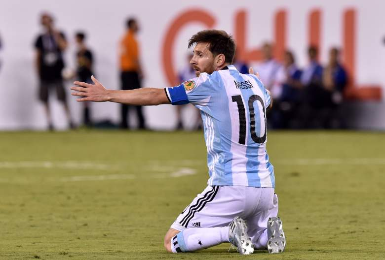 It was a heartbreaking ending for Messi in the Copa America Final. (Getty)