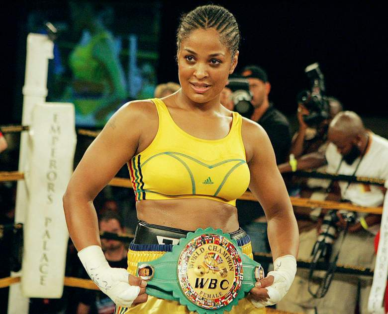 Muhammad Ali Laila Ali, Muhammad Ali daughter, Laila Ali boxing