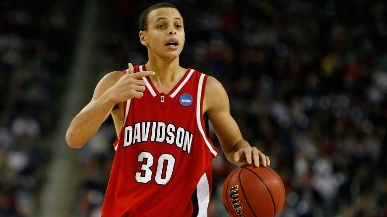steph curry born, where is steph curry from, where did steph curry go to college, where is davidson, steph curry college, steph curry bio