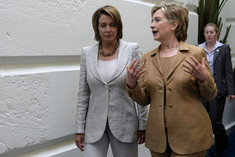 Nancy Pelosi and Hillary Clinton, Nancy Pelosi 2008, Hillary Clinton 2008