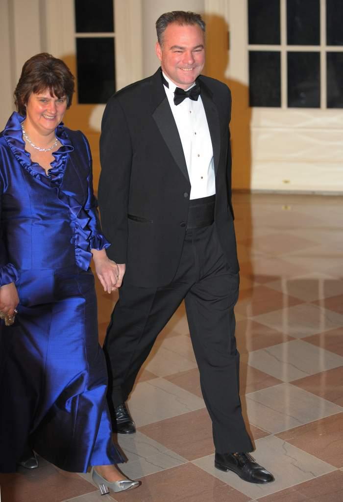 Tim Kaine, Anne Holton, Tim Kaine wife