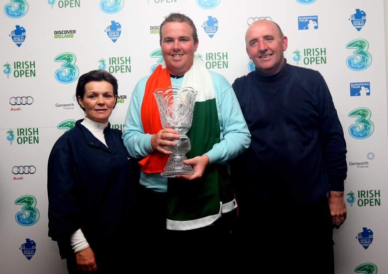 Shane Lowry wins, Shane Lowry parents, Irish Open, golf