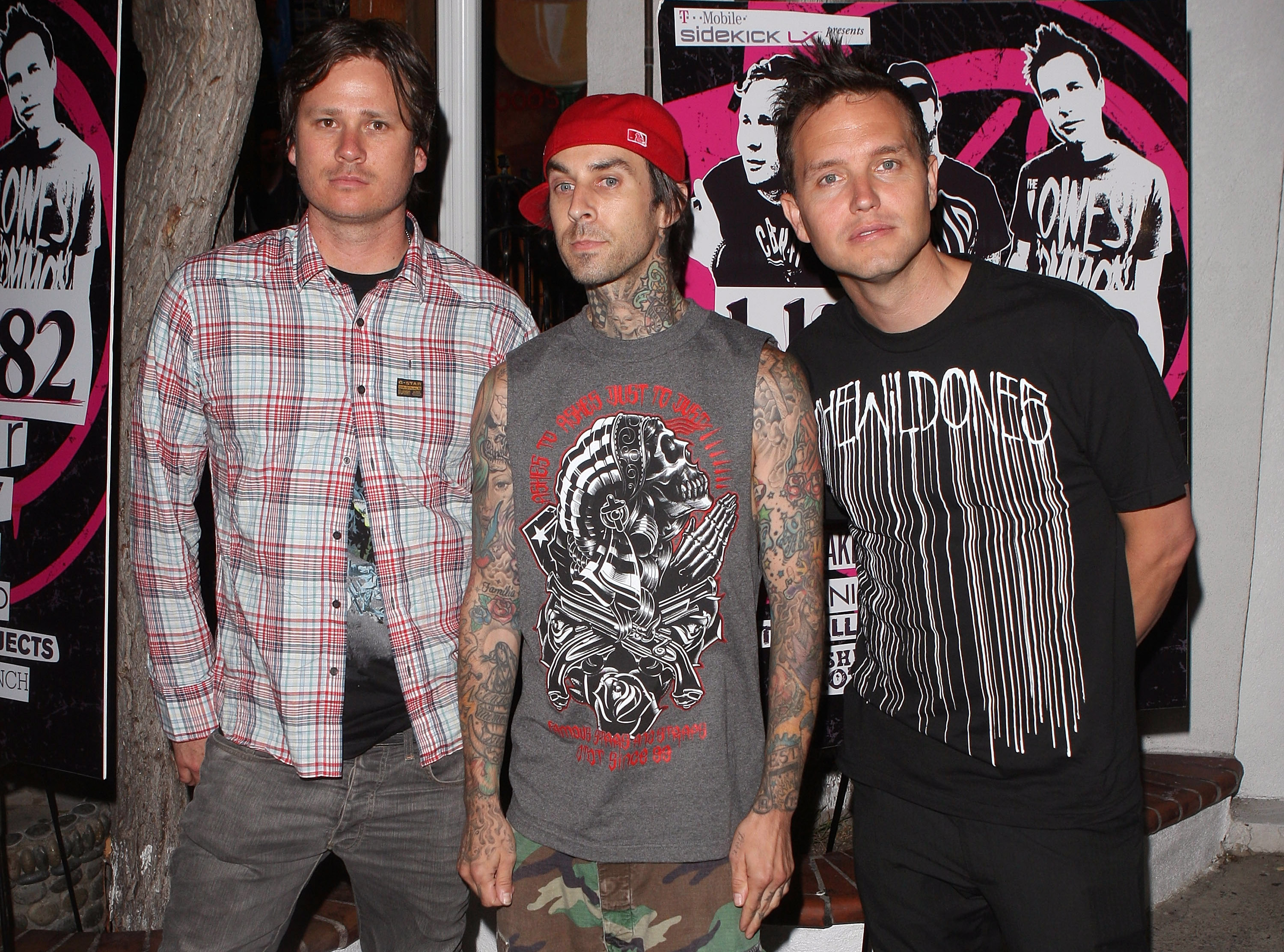 blink-182, Mark Hoppus, Tom Delonge, Travis Barker, California