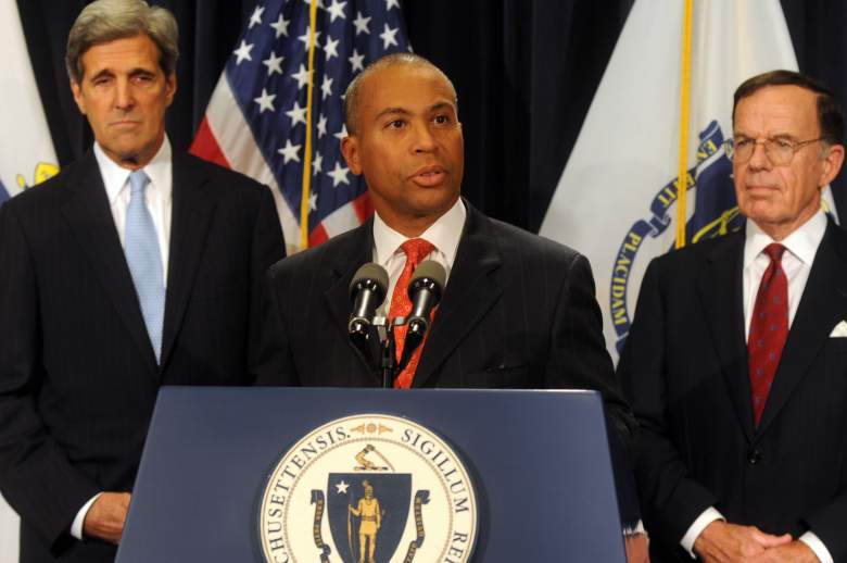Deval Patrick and John Kerry, Deval PAtrick Boston, Ted Kennedy replacement