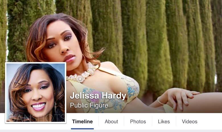 Jelissa Hardy Facebook model page