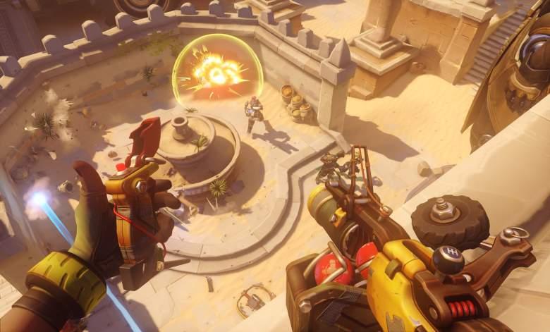 Overwatch screenshots, overwatch junkrat, overwatch counters