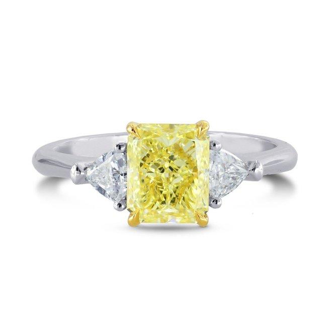 yellow diamond engagement