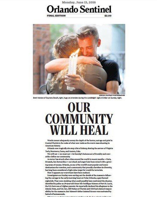 Orlando Sentinel shooting, Orlando Pulse shooting, Orlando Florida