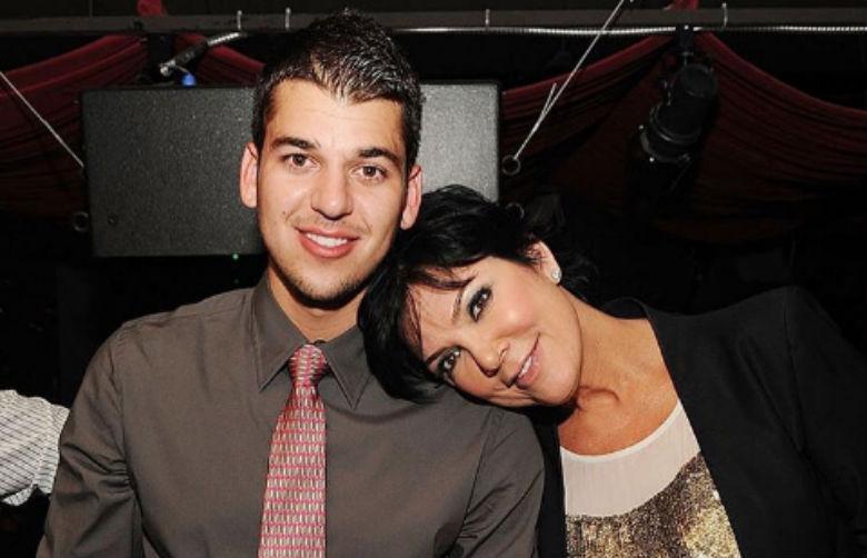 rob kardashian mother, kris jenner kids, rob kardashian tv show