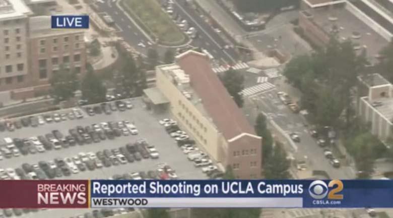 UCLA Shooting CBS Los Angeles
