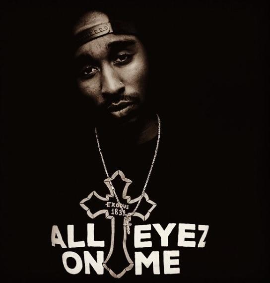 Demetrius Shipp Jr., All Eyez On Me poster, Tupac movie, Tupac actor, Demetrius Shipp Jr. as Tupac