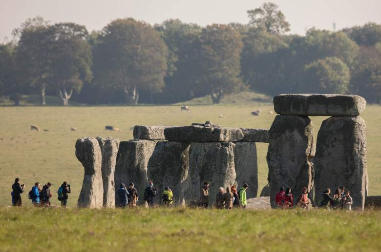 People still visit Stonehenge in the U.K., especially on special celestial events like the summer solstice