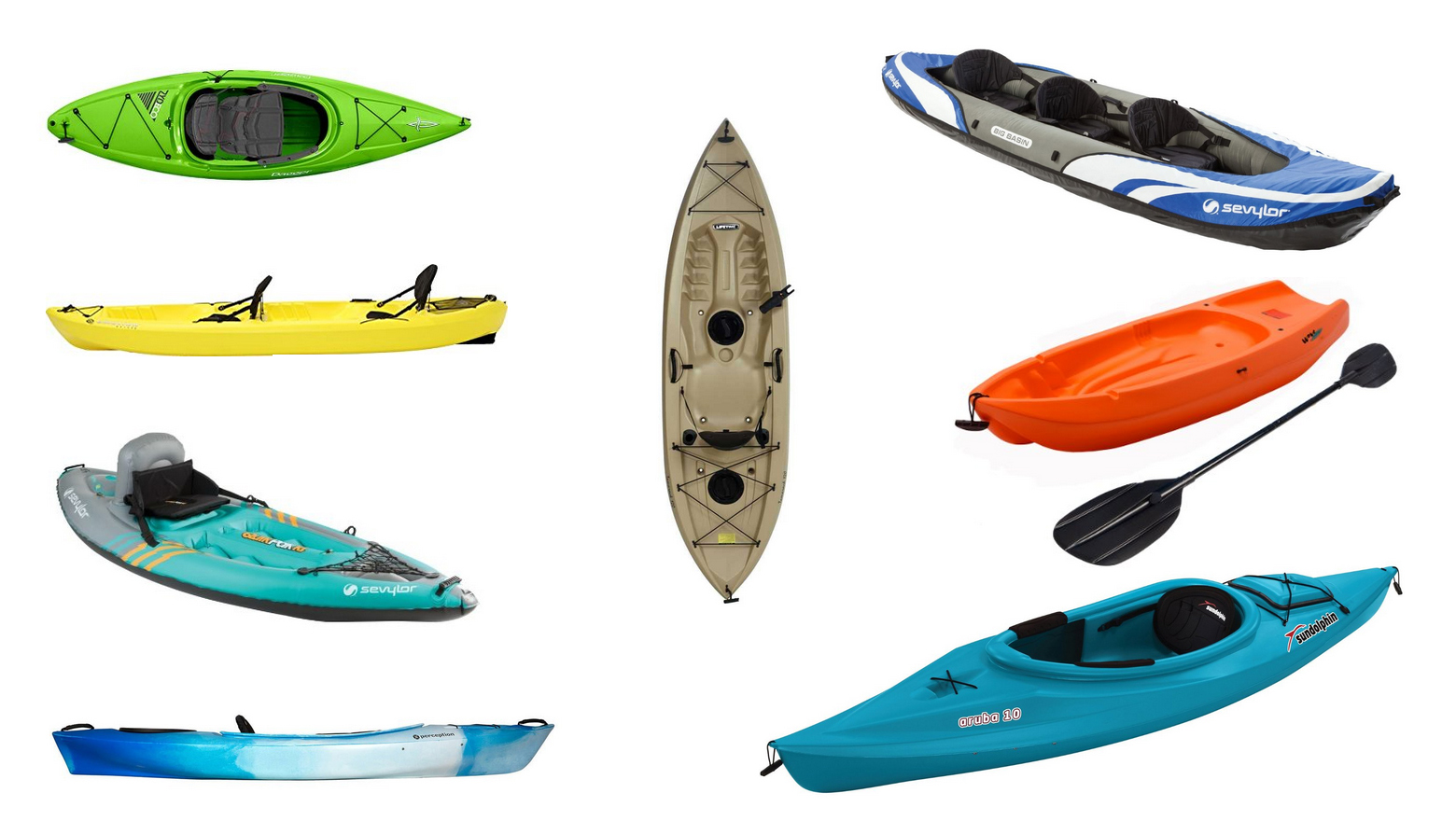 13 Best Cheap Kayaks on Sale: Compare & Save (2020) | Heavy.com