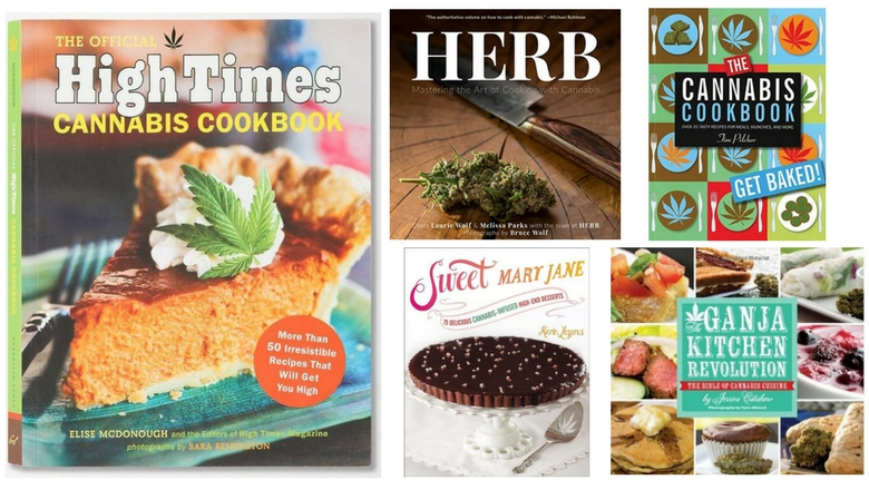 weed recipes, cannabis recipes, weed cookbook