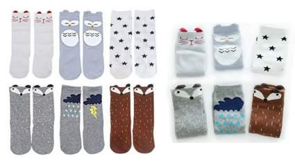 Unisex Animal Theme, best baby shower d Knee High Baby Socks, best baby shower gift