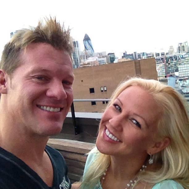 Chris Jericho wife, Chris Jericho Jessica Lockhart, Chris Jericho Jessica Lockhart Irvine