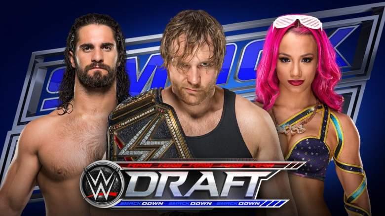 WWE Draft 2016, WWE draft rumors, WWE draft smackdown