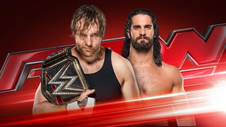 Seth Rollins Dean Ambrose, Seth Rollins Dean Ambrose Monday Night Raw, Monday Night Raw July 18