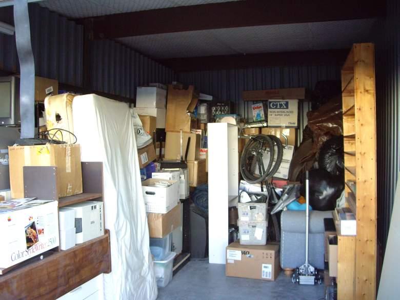 Storage unit (Photo by Jarrod Lombardo)