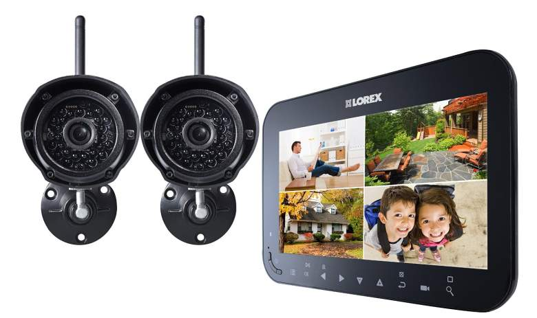 Lorex Live SD Wireless Recording Video Surveillance System