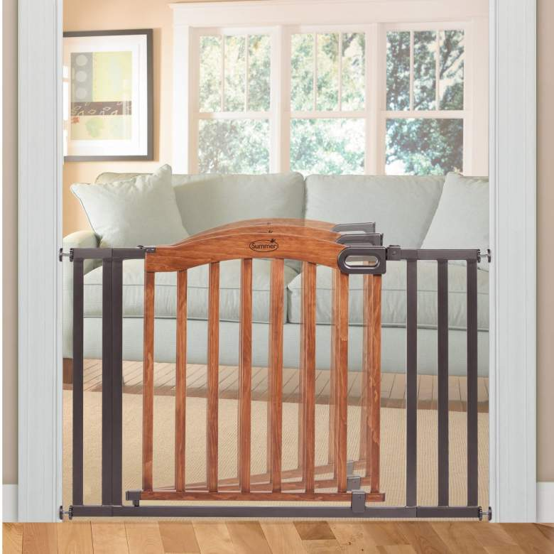 Summer Infant Decorative Wood & Metal Gate, best baby gate