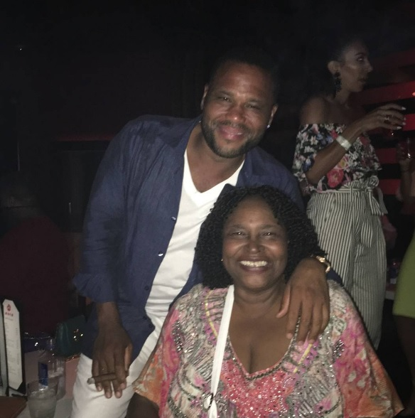 Anthony Anderson mom, Anthony Anderson, Doris Hancox, Celebrity Family Feud