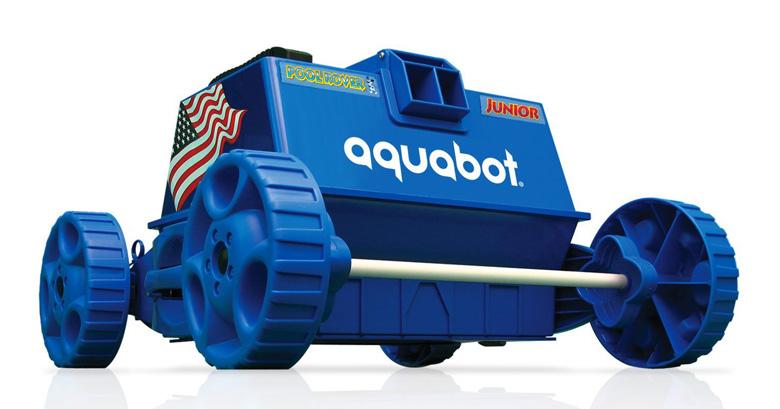 Aquabot APRVJR Pool Rover Junior Robotic Above-Ground Pool Cleaner