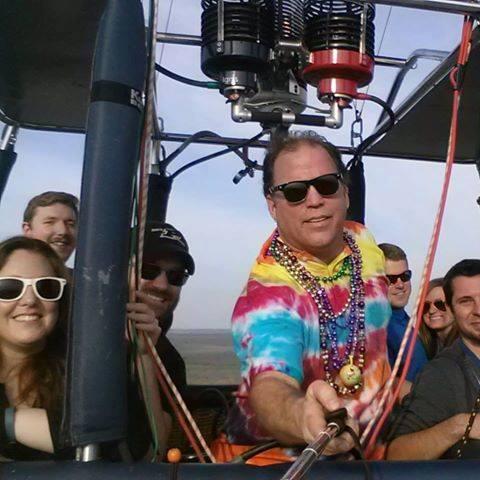 Skip Nichols, hot air balloon crash