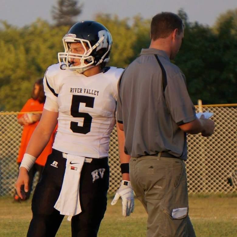 Despite battling childhood cancer, Beau Solomon was an all-conference quarterback at a Wisconsin high school. (Facebook/Beau Solomon)