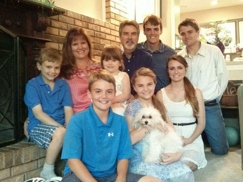 """William """"Clayton"""" Brumby made this family photo his cover picture on Facebook. (Facebook/Clayton Brumby)"""