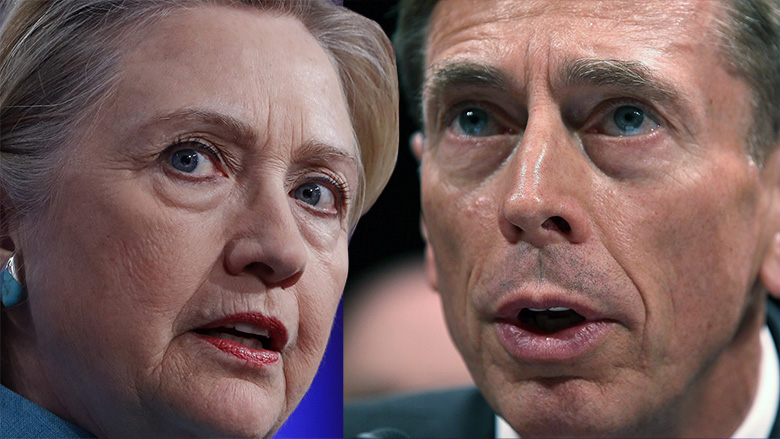 David Petraeous and Hillary Clinton, Why was Hillary Clinton not indicted? Comparison between Clinton and Petraeus
