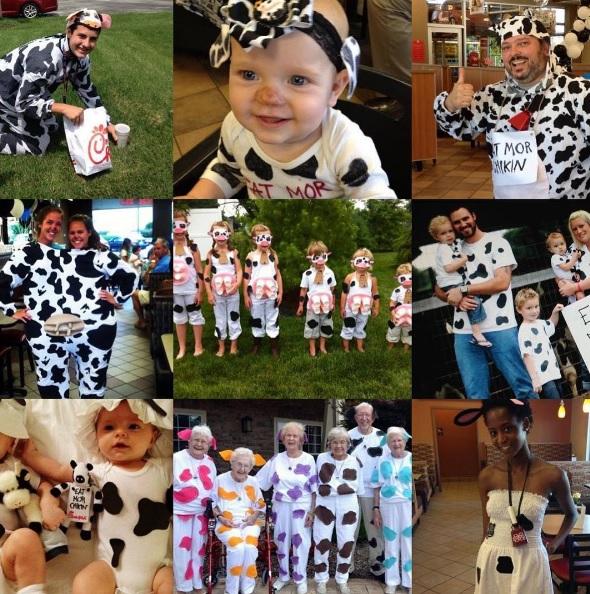 Cow Appreciation Day, #CowAppreciationDay, Chick-fil-a