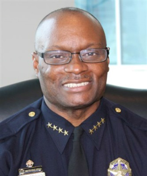 Dallas Police Chief David O. Brown (file photo, Dallas Police Department)