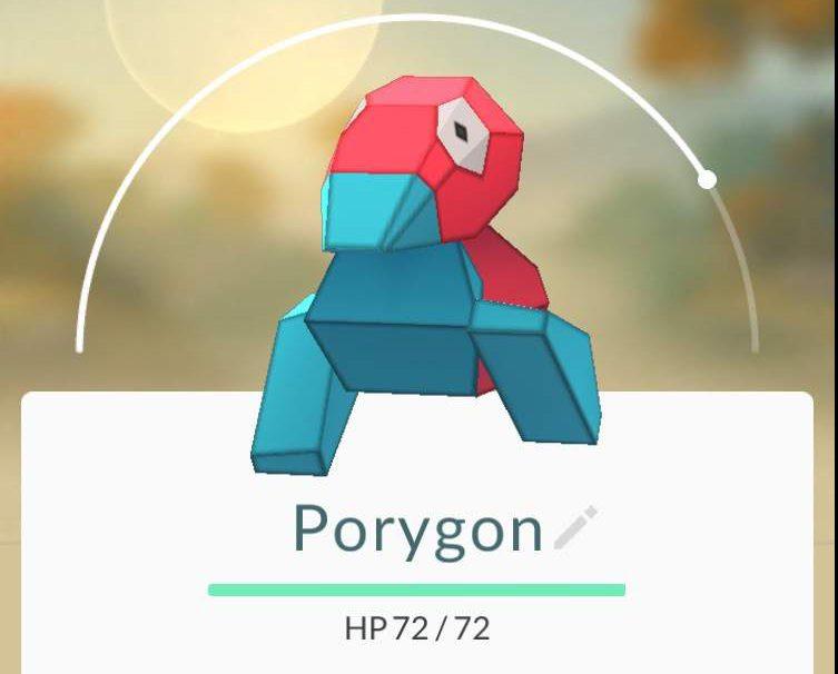 Porygon Pokemon Go, Pokemon Porygon, Pokemon find Porygon
