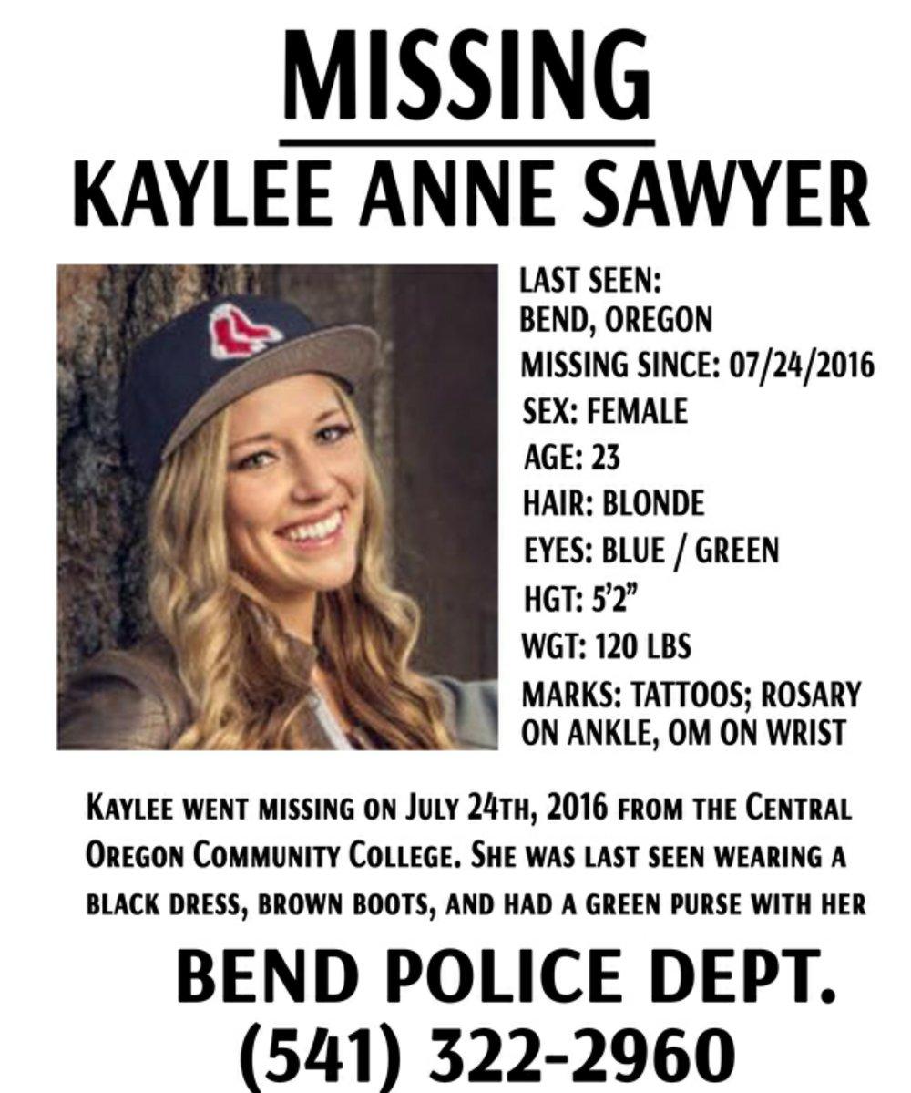 Kaylee Sawyer Edwin Lara Missing Poster