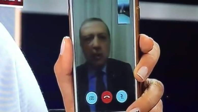 Erdogan blamed Gulen for the coup. (Getty)