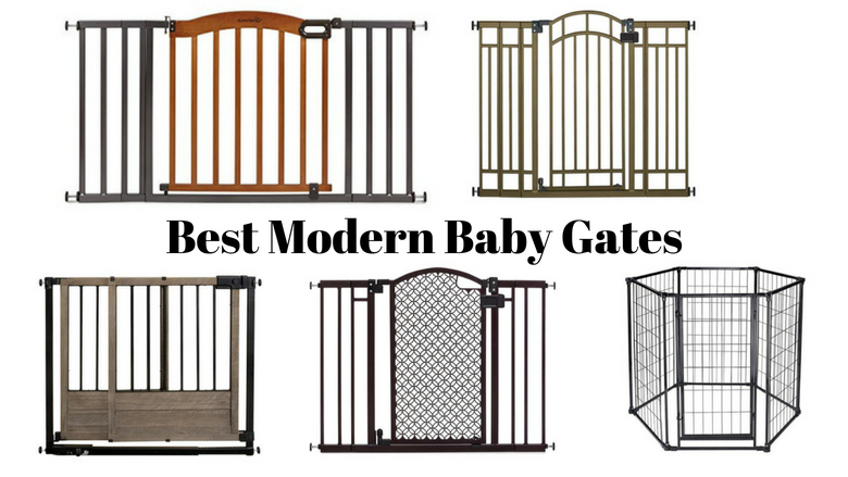 modern baby gate