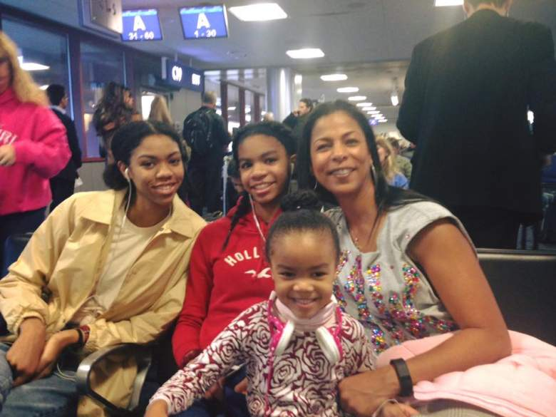 Vashti Cunningham's mother, Felicity, attended a famous ballet company. (Facebook/Felicity Cunningham)