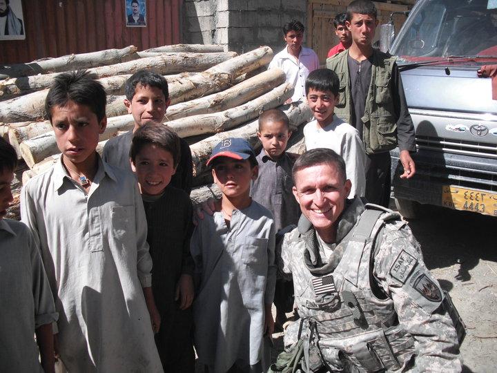 Flynn in the military. (Facebook/Michael Flynn)