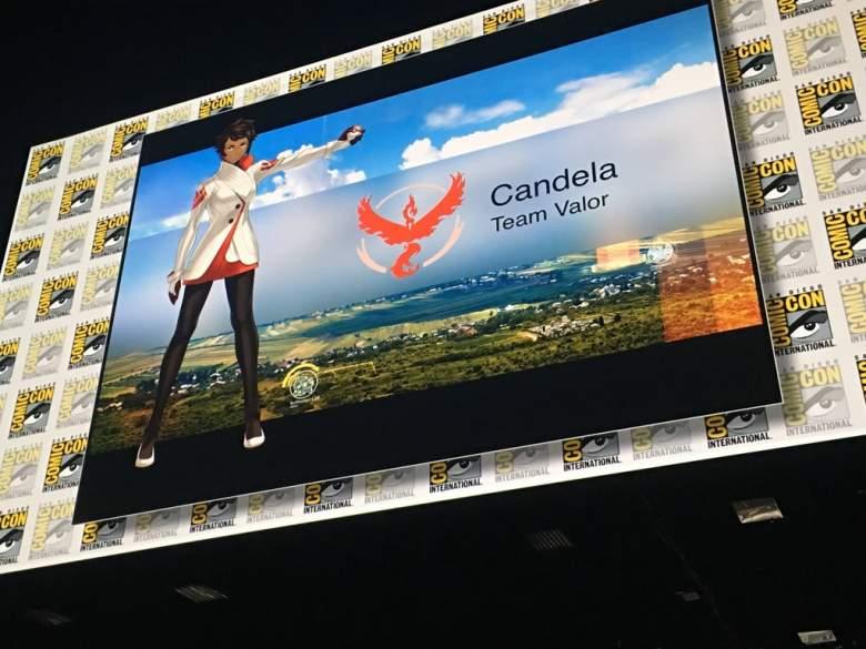 Pokemon Go Candela, Pokemon Go Pokemon Go Candela comic-con, pokemon go comic-con