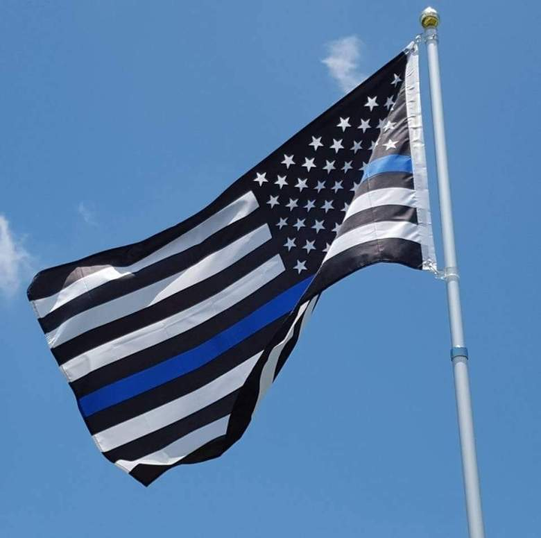 The Facebook profile picture of Officer Gerald's wife, Dechia. (Facebook)