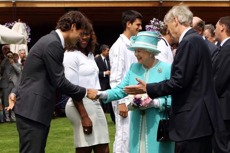 Wimbledon 2010, Queen Elizabeth II