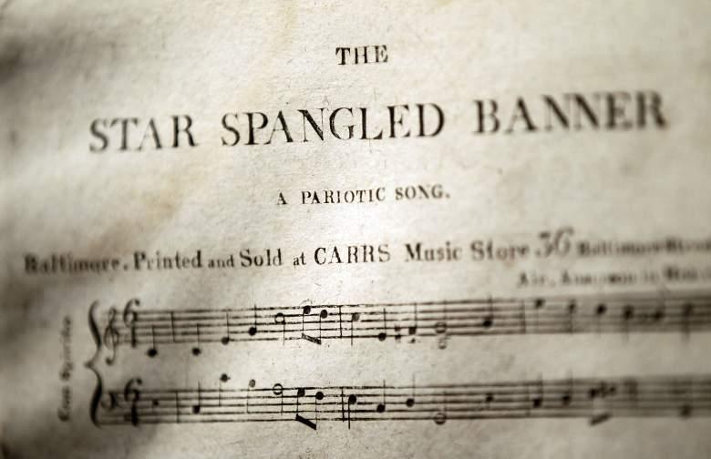 Star Spangled Banner, Star Spangled banner sheet music, national anthem