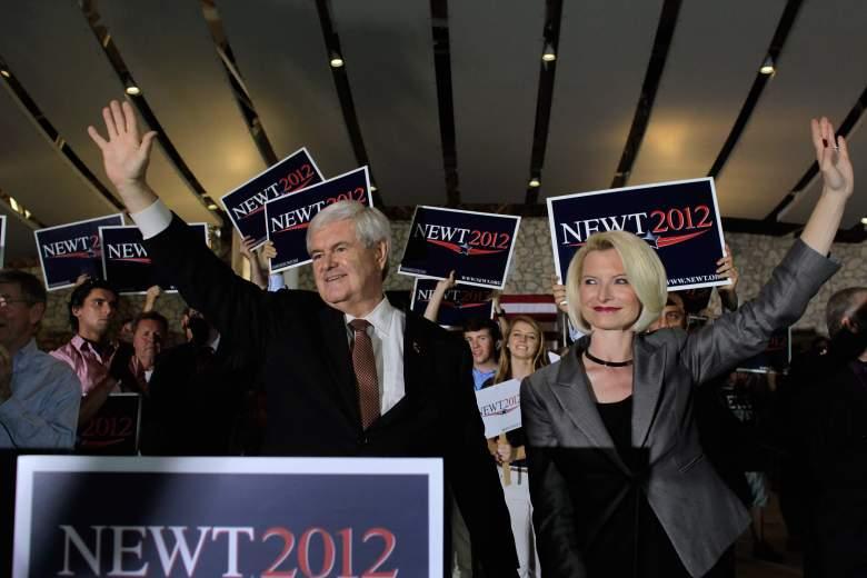 Newt Gingrich 2012 campaign, Newt Gingrich Callista Gingrich 2012, Newt Gingrich wife