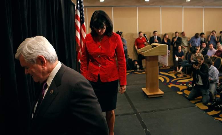 Newt Gingrich, Jackie Cushman, Newt Gingrich 2012