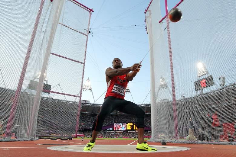 Kibwe Johnson London Summer Olympics