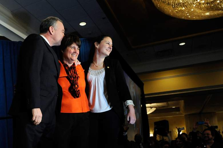 Anne Holton, Tim Kaine and Anne Holton, Tim Kaine wife, Tim Kaine daughter, Ann Holton daughter