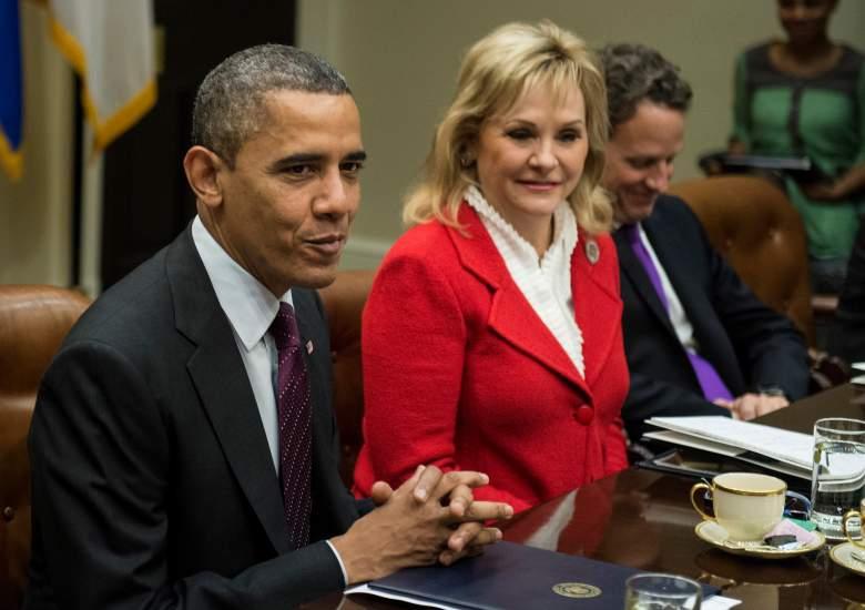 Mary Fallin, Oklahoma Governor, RNC Speakers Day 4, Barack Obama