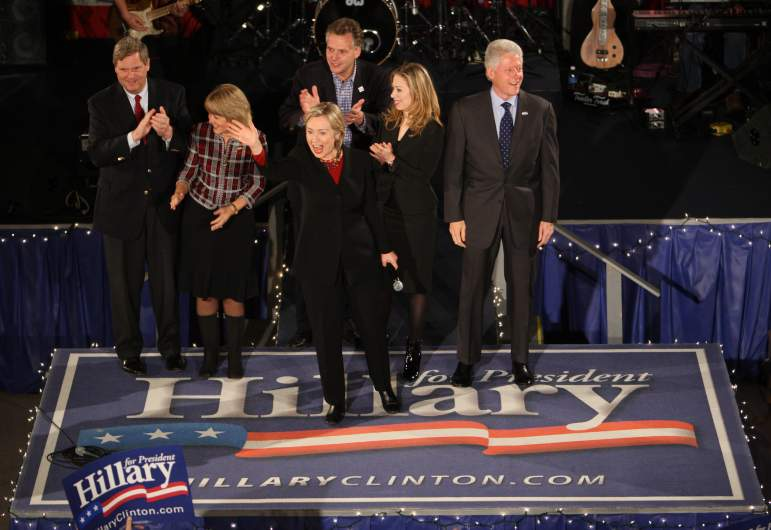 christie vilsack and tom vilsack, christie vilsack and bill clinton, tom vilsack and hillary clinton, tom vilsack and bill clinton
